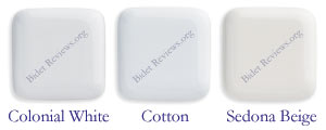 The Toto Washlet Color Selection